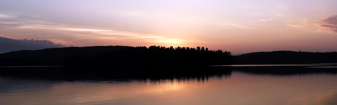 Sunset in Algonquin Park